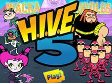 Teen Titans Go Hive Five