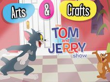 Tom And Jerry Arts and Crafts