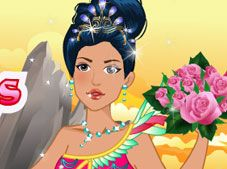 Wedding Pocahontas Dress Up