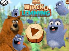 Whack-a-Lemming